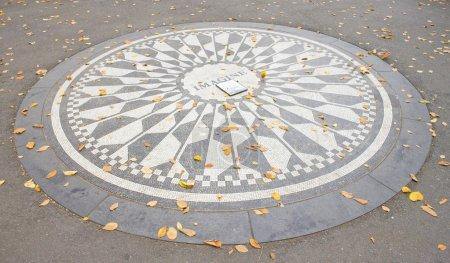 Memorial to John Lennon, Central Park, New York City, USA