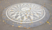 Memorial to John Lennon, Central Park, New York City, USA