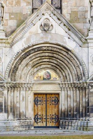 Portal of Tepla Monastery