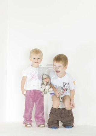 Standing children