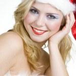 Woman's portrait - Santa Claus...
