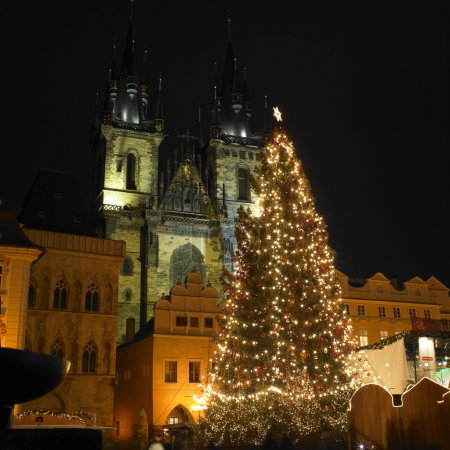 Christmas time, Prague, Czech Republic