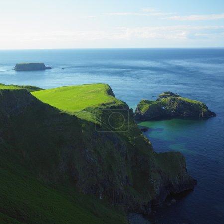Foto de Paisaje marino, Condado de antrim, Irlanda del norte - Imagen libre de derechos
