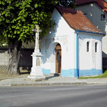 Little church, Sardice, Czech Republic