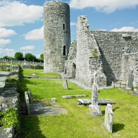 Ruins of Drumlane Monastery, County Cavan, Ireland...