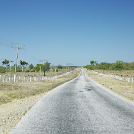Road, Las Tunas Province, Cuba