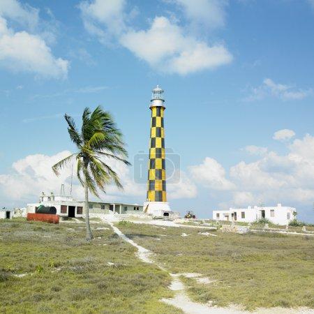 Lighthouse, Cayo Pared