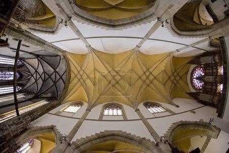 Foto de Interior de iglesia de St egidius, bardejov, Eslovaquia - Imagen libre de derechos