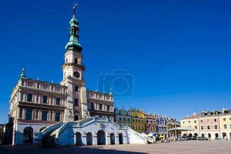 Town Hall, Main Square (Rynek Wielki), Zamosc, Pol...