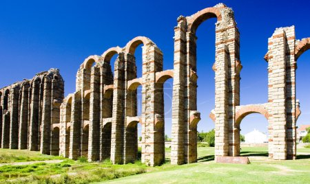Aqueduct of Los Milagros, Merida, Badajoz Province...