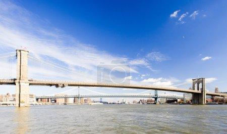 Photo for Brooklyn Bridge, Manhattan, New York City, USA - Royalty Free Image