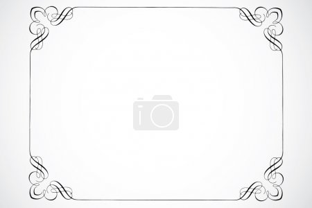 Photo for Detailed decorations. Great for borders, frames, and certificates - Royalty Free Image