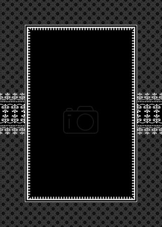 Ornate Frame and Pattern