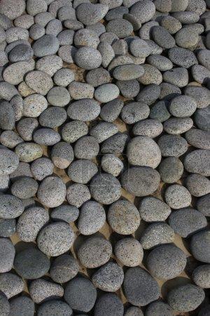 Photo pour Pebble Stone peut utiliser comme arrière-plan dans la conception . - image libre de droit