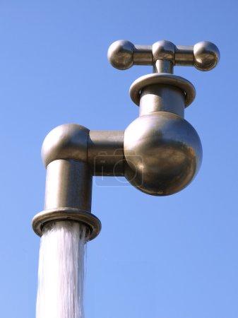Huge faucet
