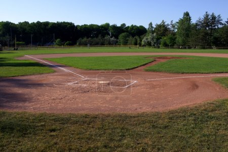 Baseball Field Shadows