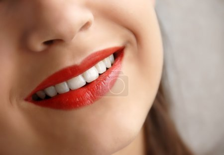 Young girl smile