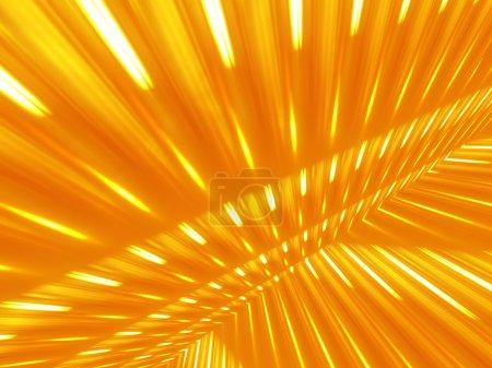 Foto de Hermoso Resumen antecedentes goldish con rayos blancos - Imagen libre de derechos