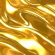 Background with the waves of liquid gold...