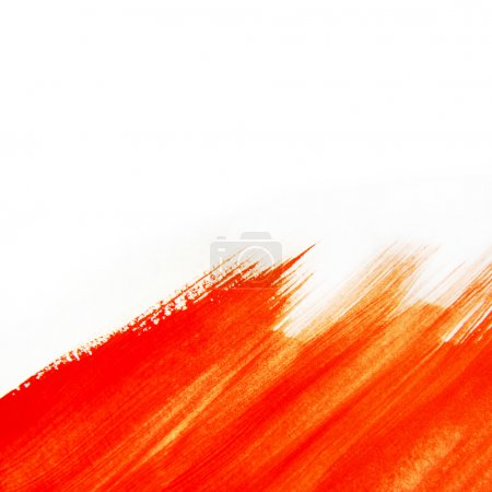Red Paintbrush Texture