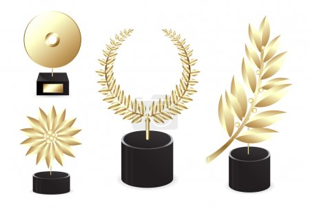 Set Of Golden Awards