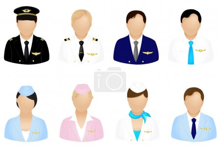 Aircraft Crew Icons