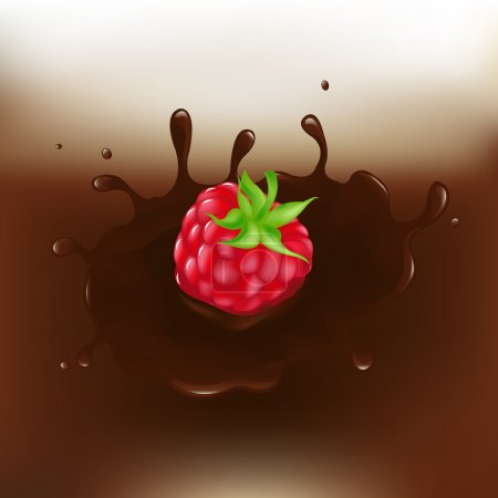Chocolate-dipped Raspberry