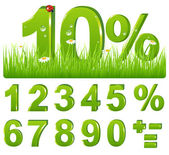 Green Discount In Grass