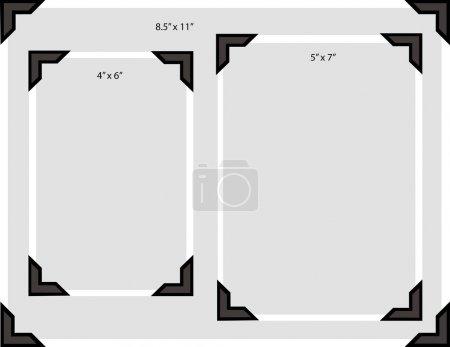 Photo Corners Sizes