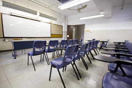 Foto de Es un tiro de aula vacía - Imagen libre de derechos