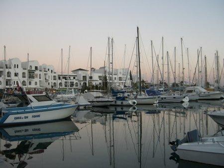 El Kantaoui port