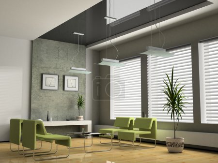 Photo for Interior office for negotiations 3D rendering - Royalty Free Image