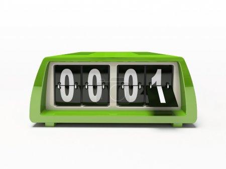Green watch - counter
