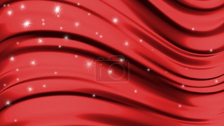 Abstract liquid red background