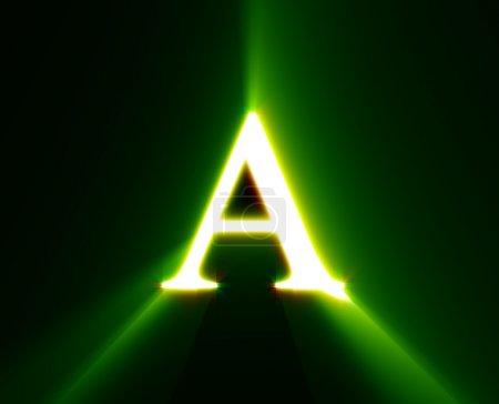 Photo pour Une, abc, alphabet, caractère, lettre, - image libre de droit