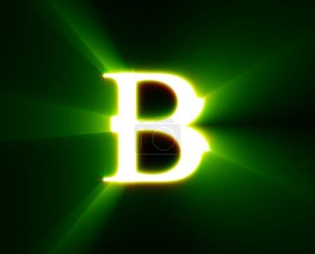 Photo pour B, abc, alphabet, caractère, lettre, - image libre de droit