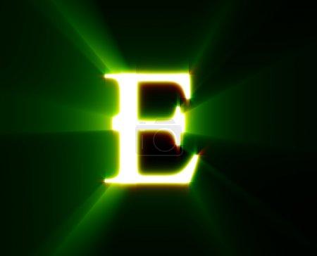 Photo pour E, abc, alphabet, caractère, lettre, - image libre de droit