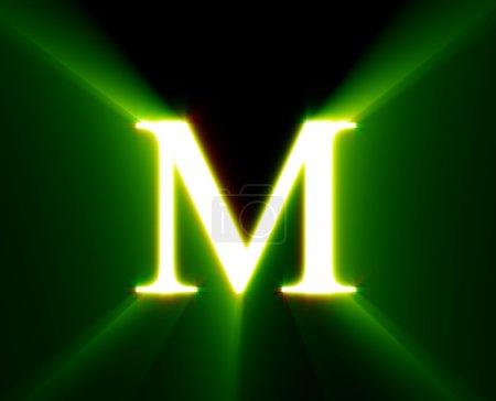 Ich bin, glänze, grün