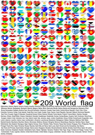 Illustration for Flags of the countries of the world - Royalty Free Image