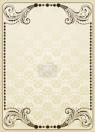 Vintage background for Book cover