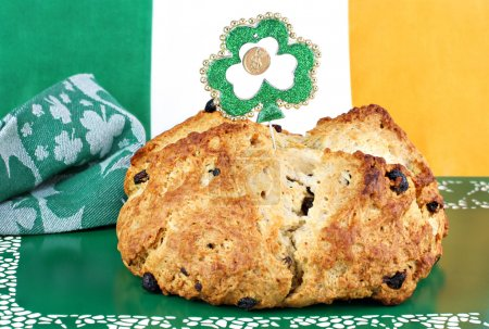 Irist Soda Bread in Irish Setting
