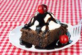 Brownie Ice Cream Sundae