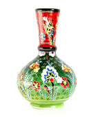 Vase with traditional oriental patterns