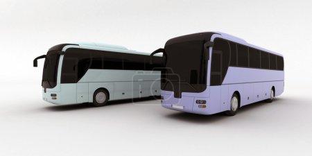 Deux bus