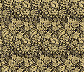 Vector seamless pattern in traditional Russian style Design element