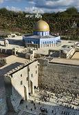 Model Of The Temple Mount In Jerusalem