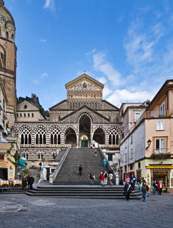 St Andrew Cathedral, Amalfi, Italy