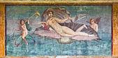 "Постер, картина, фотообои ""affresco di Venere nella casa di Venere, Pompei"""