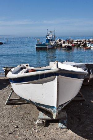 Boat at Marina Grande, Sorrento