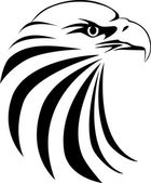 Vector art eagle head